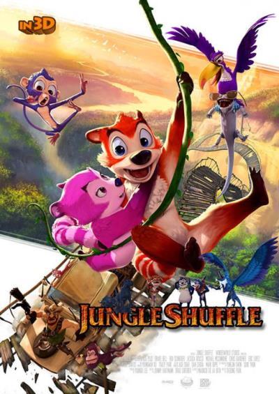 دانلود انیمیشن خارجی Jungle Shuffle 2014