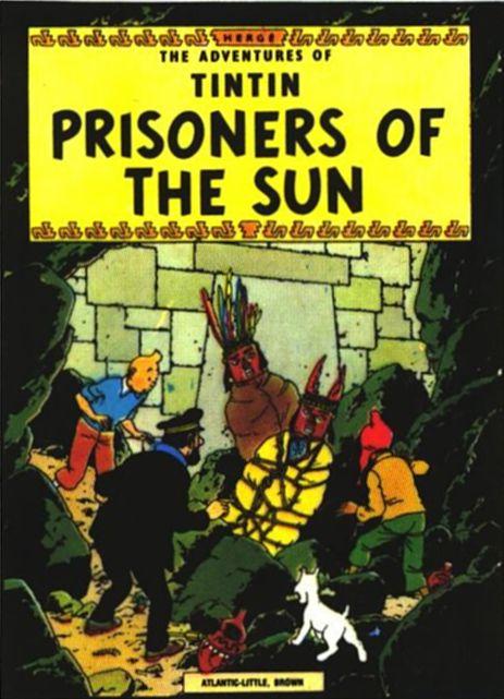 دانلود کارتون قدیمی تن تن و زندانیان خورشید با لینک مستقیم