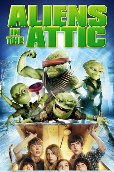 دانلود فیلم Aliens in the Attic 2009 با دوبله فارسی