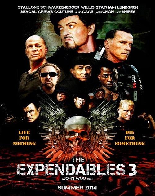 دانلود فیلم The Expendables 3 2014 بی مصرف ها 3