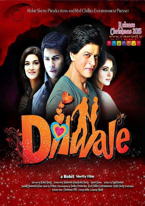 پوستر فیلم هندی دلداده Dilwale 2015
