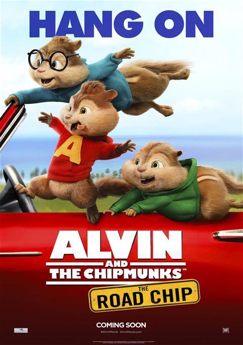 کارتون Alvin and the Chipmunks: The Road Chip 2015