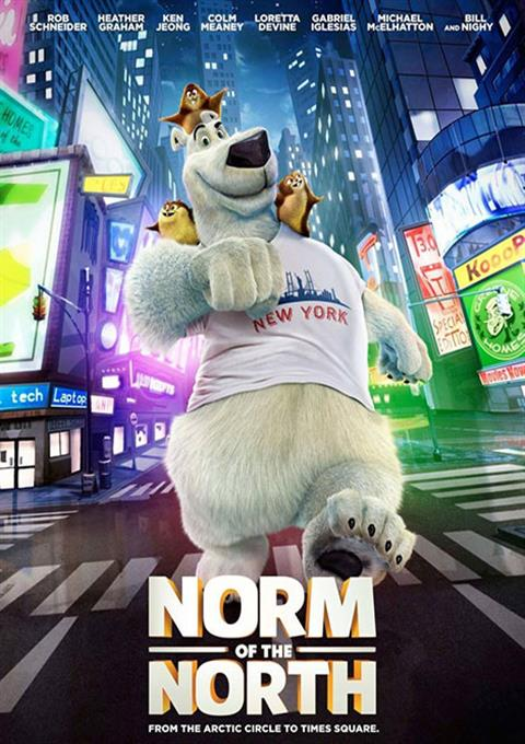کارتون Norm of the North 2016