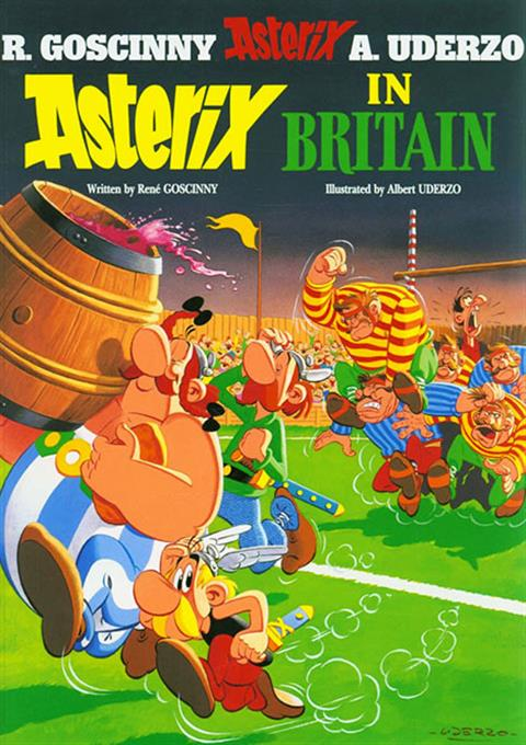 کارتون Asterix in Britain 1986