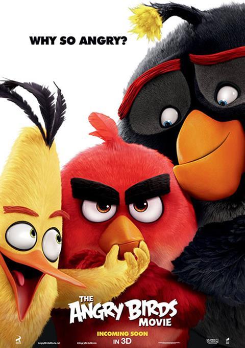 کارتون Angry Birds 2016