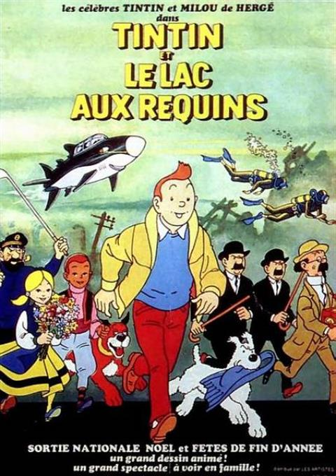 کارتون Tintin and the Lake of Sharks 1972