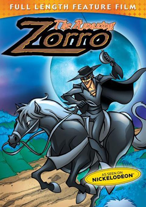 کارتون The Amazing Zorro 2002