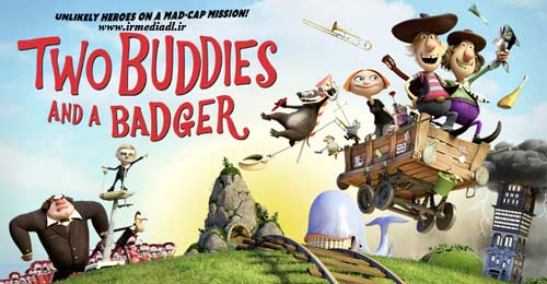 کارتون Two Buddies and a Badger 2015