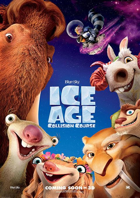 کارتون Ice Age: Collision Course 2016