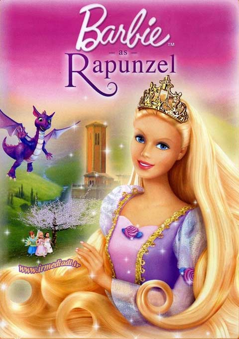کارتون Barbie as Rapunzel 2002
