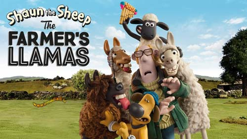 کارتون Shaun the Sheep The Farmers Llamas 2010