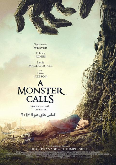 فیلم تماس های هیولا A Monster Calls