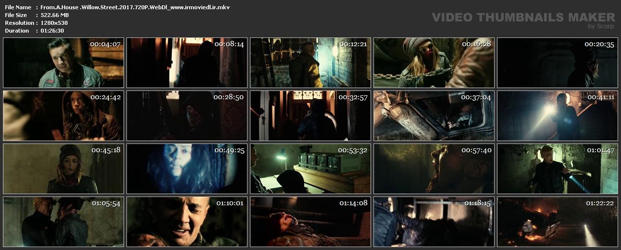 دانلود فیلم از یک خانه در خیابان بید From a House on Willow Street 2017
