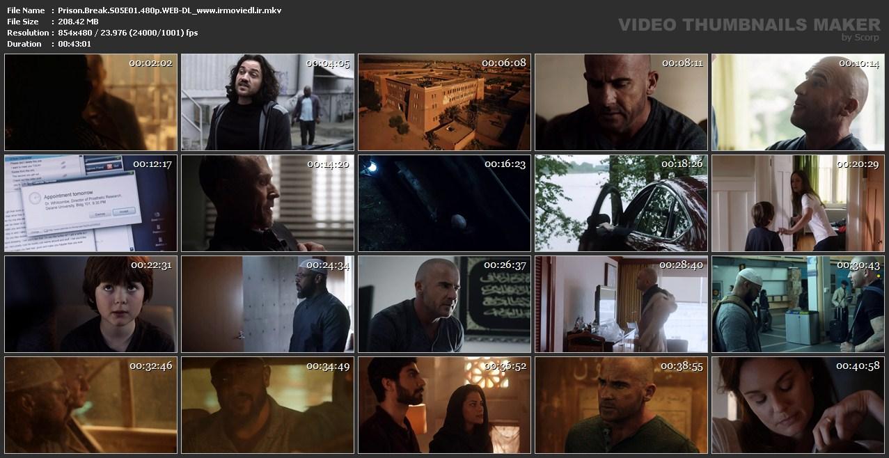 اسکرین شات فرار از زندان قسمت اول Prison Break S05E01