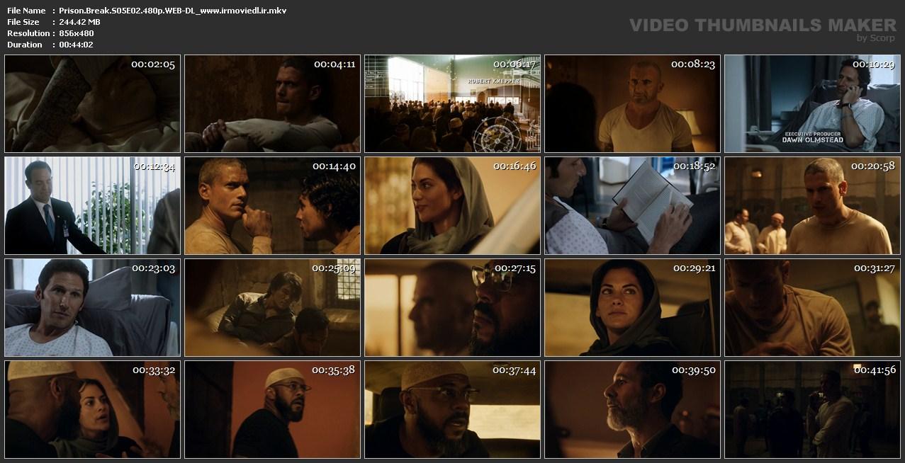 اسکرین شات فرار از زندان قسمت دوم از فصل 5 Prison Break S05E02