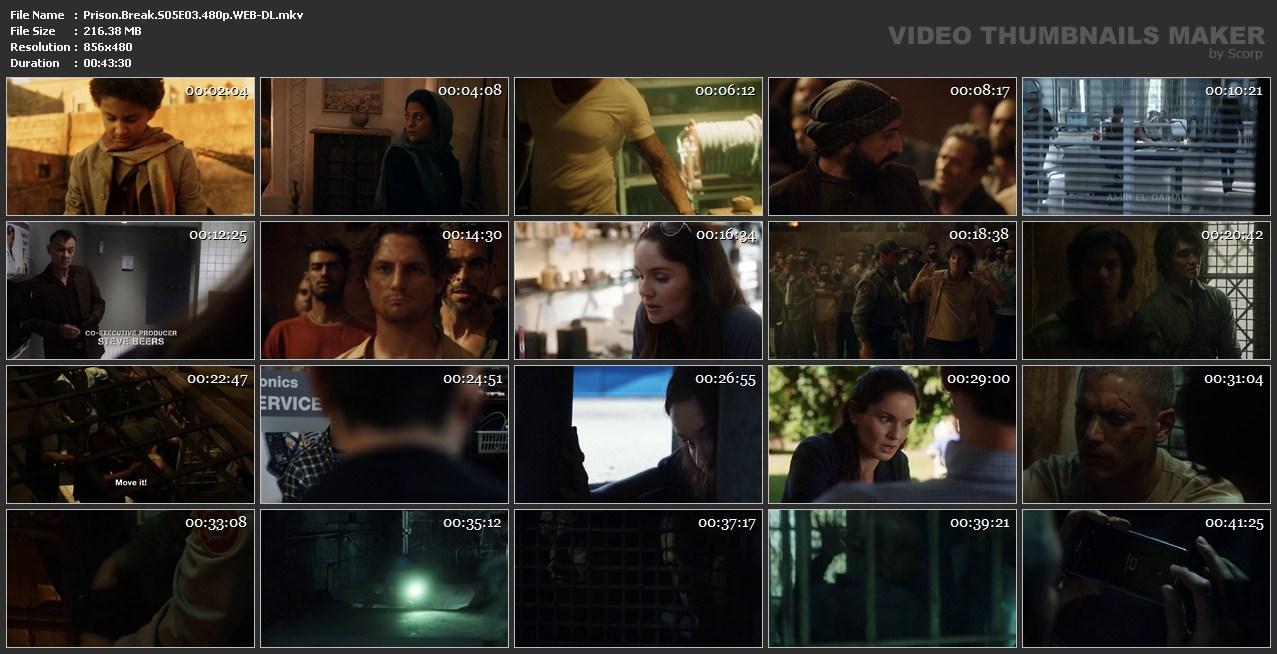 اسکرین شات فرار از زندان قسمت سوم از فصل 5 Prison Break S05E03