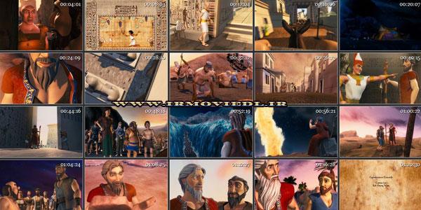 دانلود انیمیشن 10 فرمان حضرت موسی  The Ten Commandments 2009