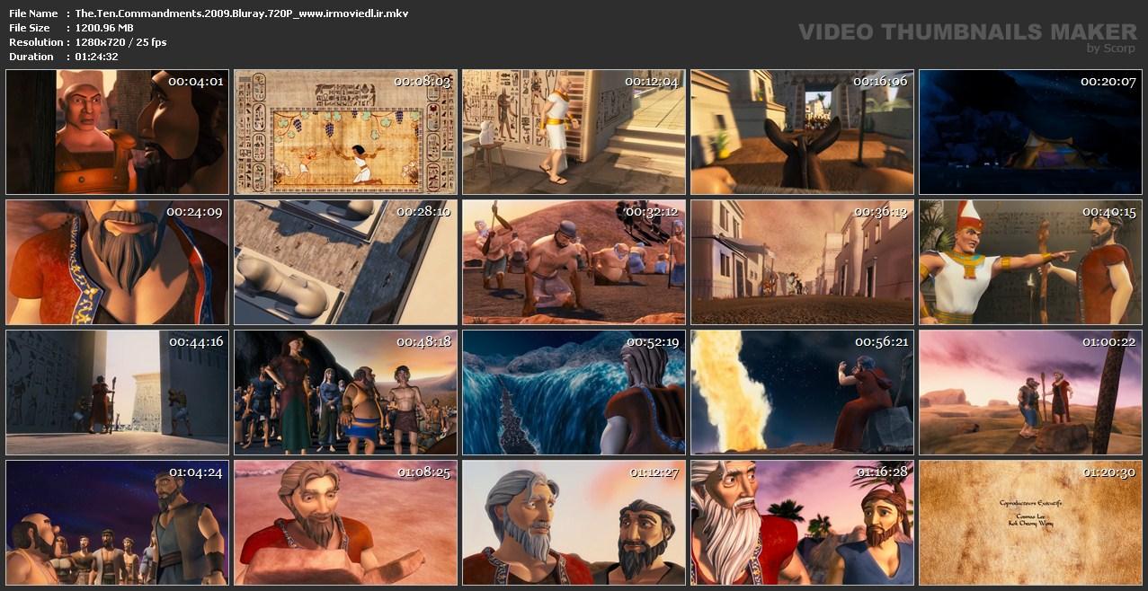 اسکرین شات 10 فرمان حضرت موسی The Ten Commandments 2009
