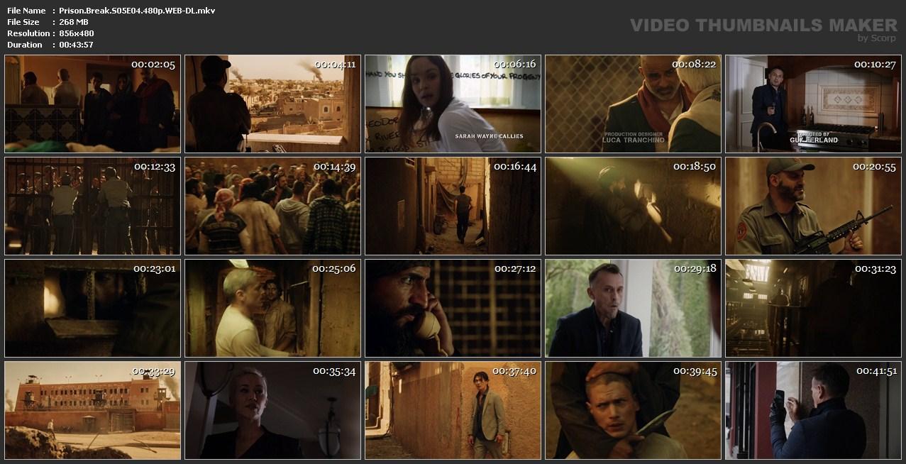 اسکرین شات فرار از زندان قسمت چهارم از فصل 5 Prison Break S05E04