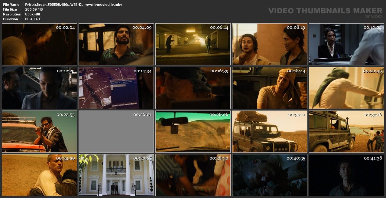 اسکرین شات فرار از زندان قسمت ششم از فصل 5 Prison Break S05E06