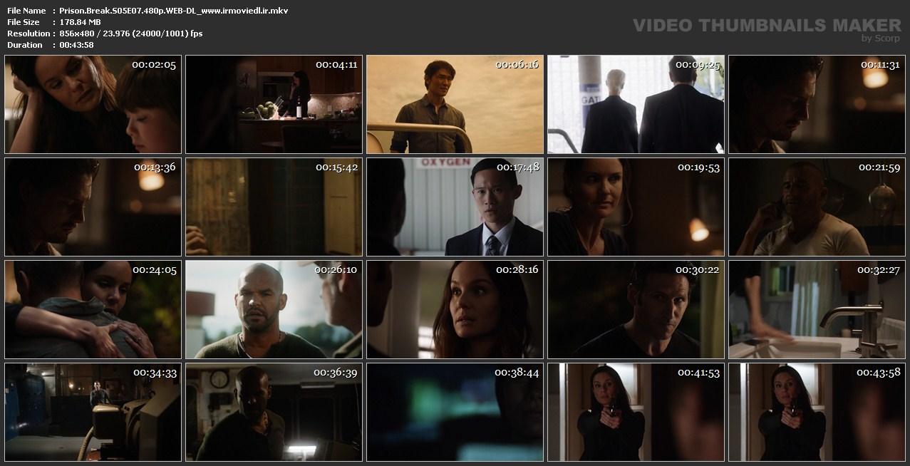اسکرین شات فرار از زندان قسمت هفتم از فصل 5 Prison Break S05E08