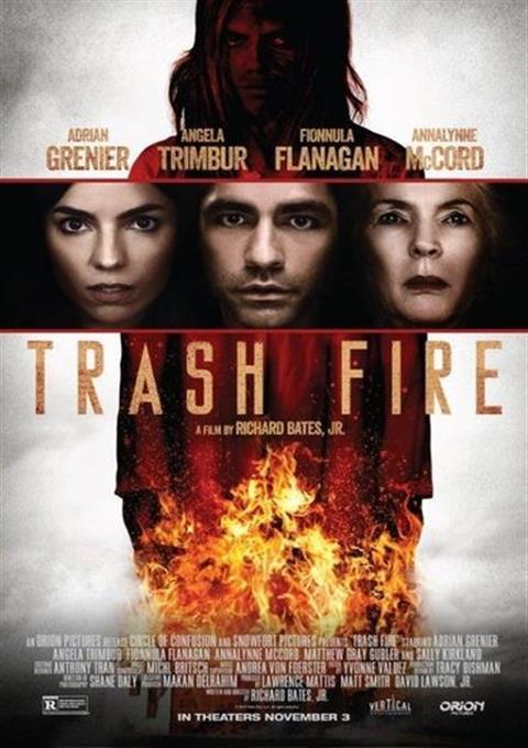دانلود فیلم آتش زباله  Trash Fire 2016