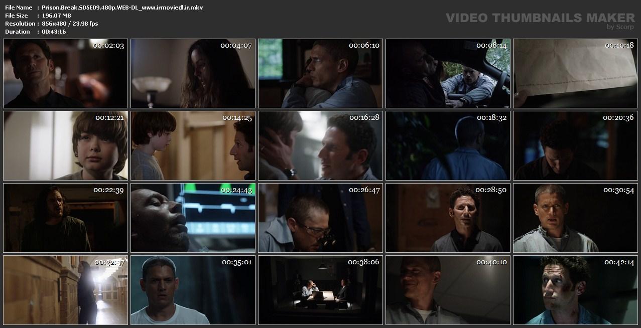 اسکرین شات فرار از زندان قسمت نهم از فصل 5 Prison Break S05E09