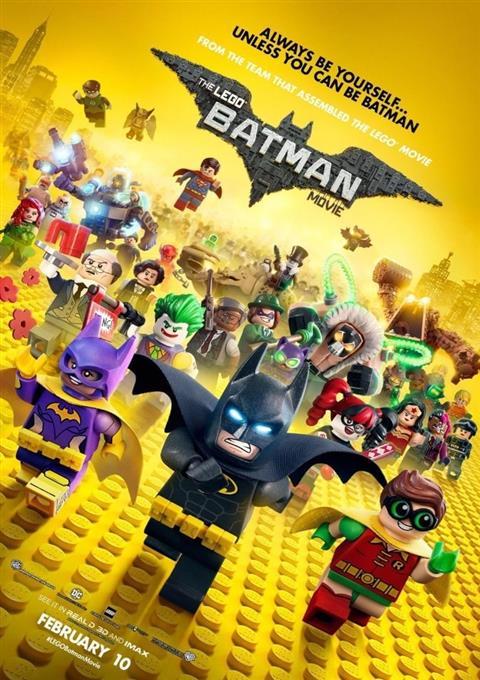 دانلود انیمیشن لگو بتمن  The Lego Batman Movie 2017