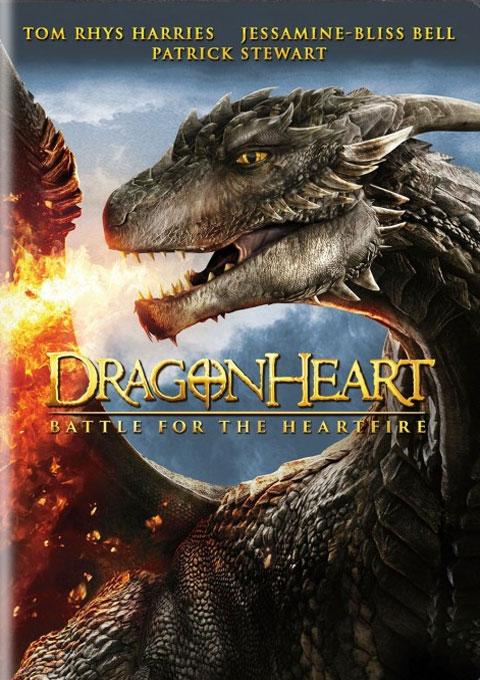 دانلود فیلم نبرد قلب اژدها برای آتش قلب  Dragonheart Battle For Heartfire 2017