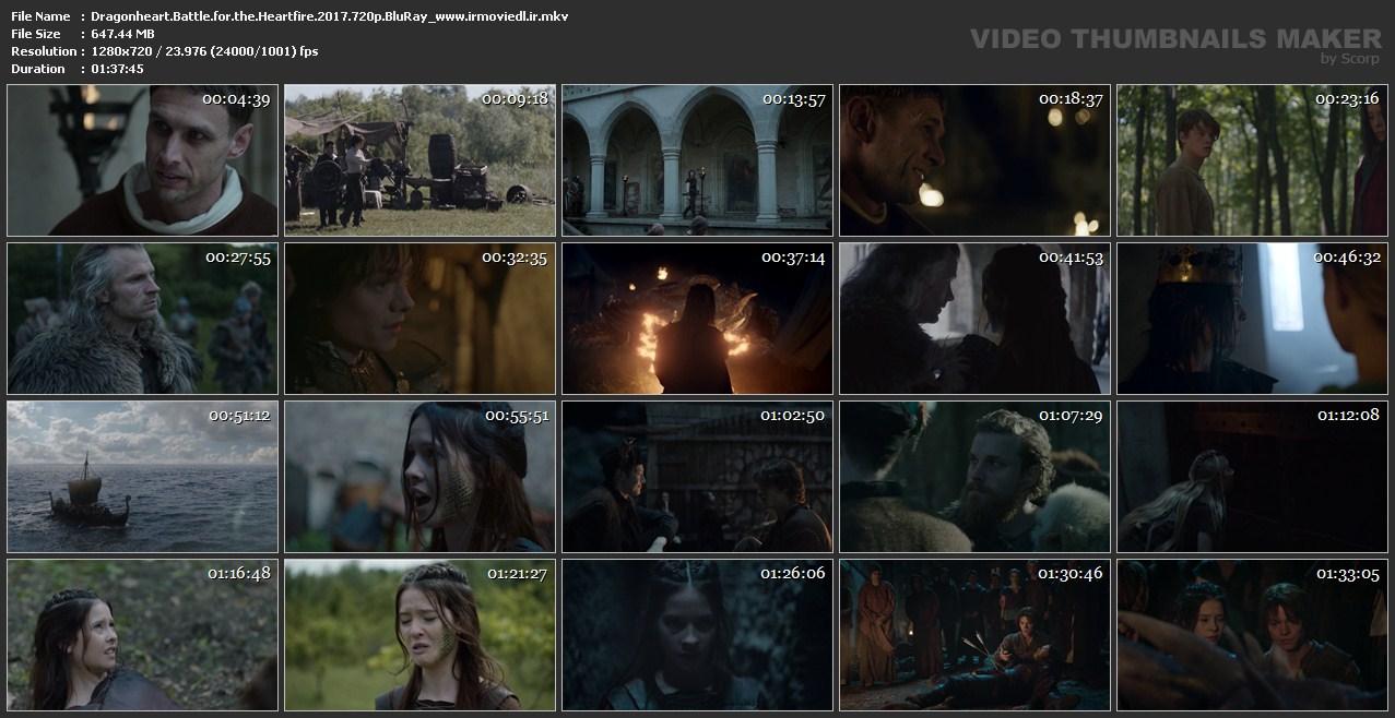 اسکرین شات نبرد قلب اژدها برای آتش قلب Dragonheart Battle For Heartfire