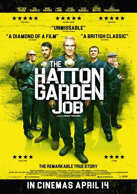 دانلود فیلم سرقت هاتون گاردن  The Hatton Garden Job 2017
