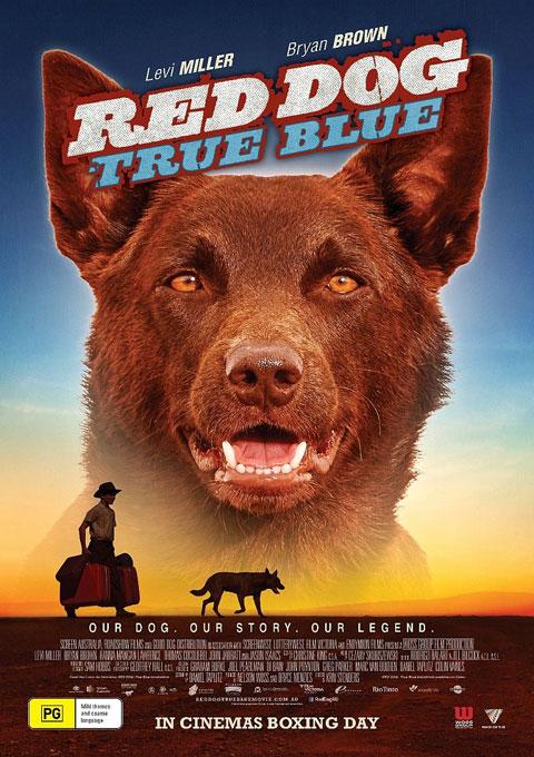 دانلود فیلم دانلود فیلم سگ قرمز آبی واقعی  Red Dog True Blue 2016