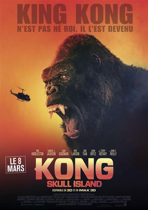 دانلود فیلم کنگ جزیره جمجمه  Kong : Skull Island 2017