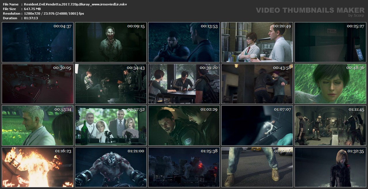 اسکرین شات دستیار شیطان : وندتو Resident Evil: Vendetta