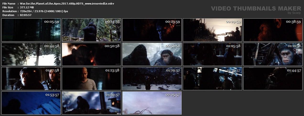 اسکرین شات جنگ برای سیاره مورچه ها War for the Planet of the Apes