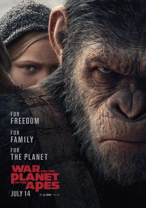 دانلود فیلم جنگ برای سیاره مورچه ها  War for the Planet of the Apes 2017