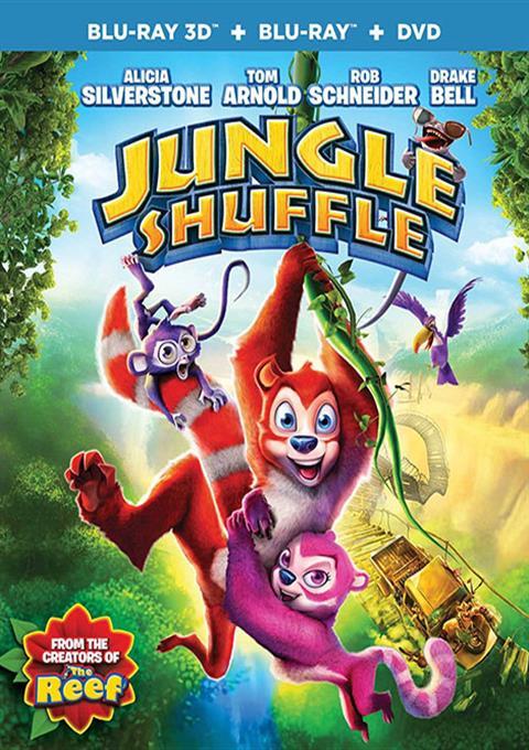 کارتون Jungle Shuffle 2014