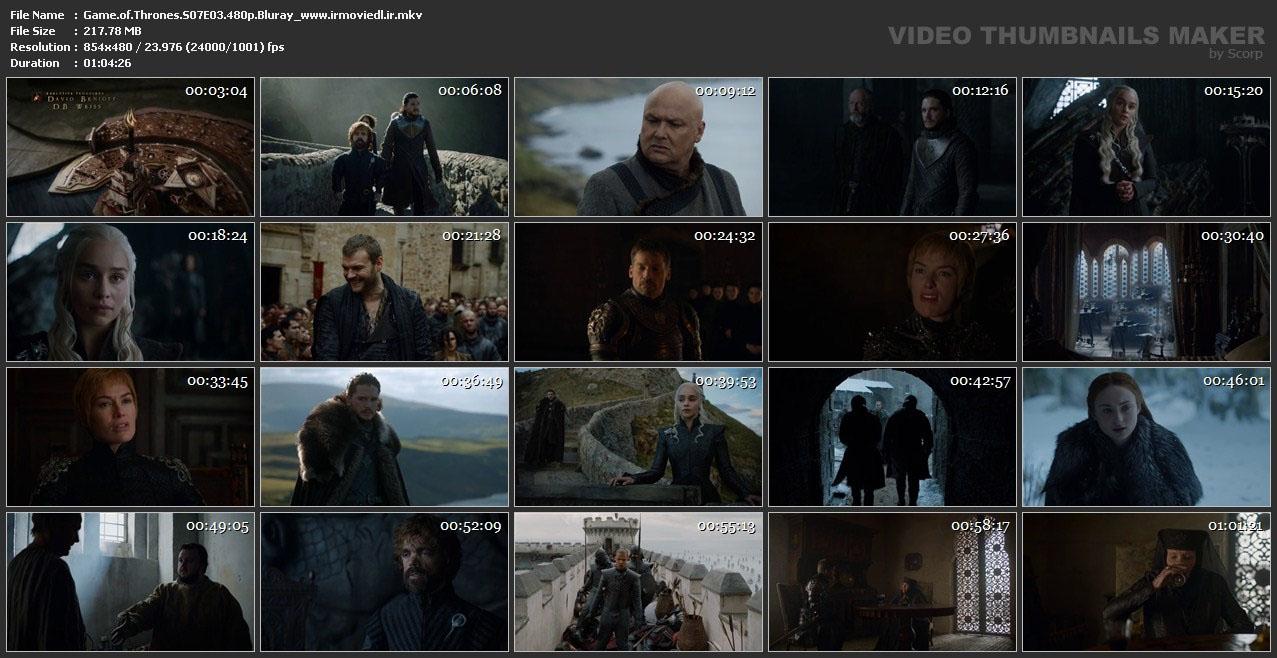 اسکرین شات بازی تاج و تخت قسمت سوم فصل هفتم از فصل 7 Game of Thrones S07E03