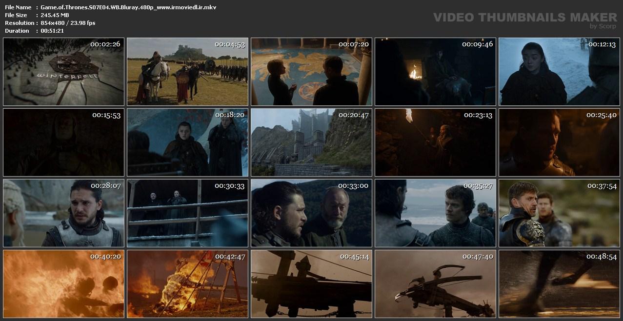 اسکرین شات بازی تاج و تخت قسمت چهارم فصل هفتم از فصل 7 Game of Thrones S07E04