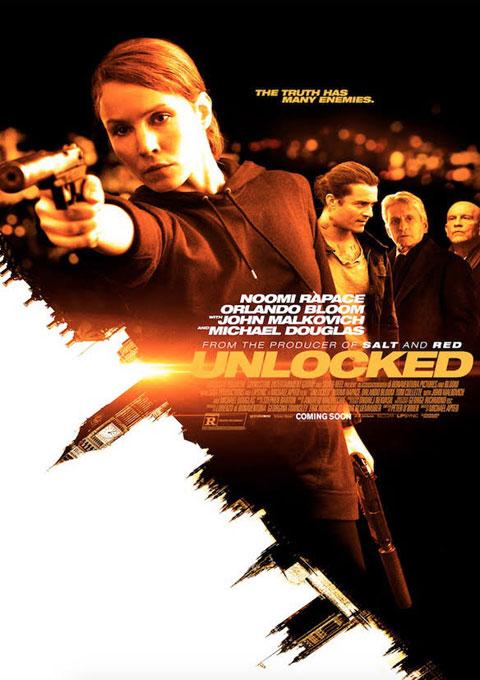 دانلود فیلم قفل باز شده  Unlocked 2017