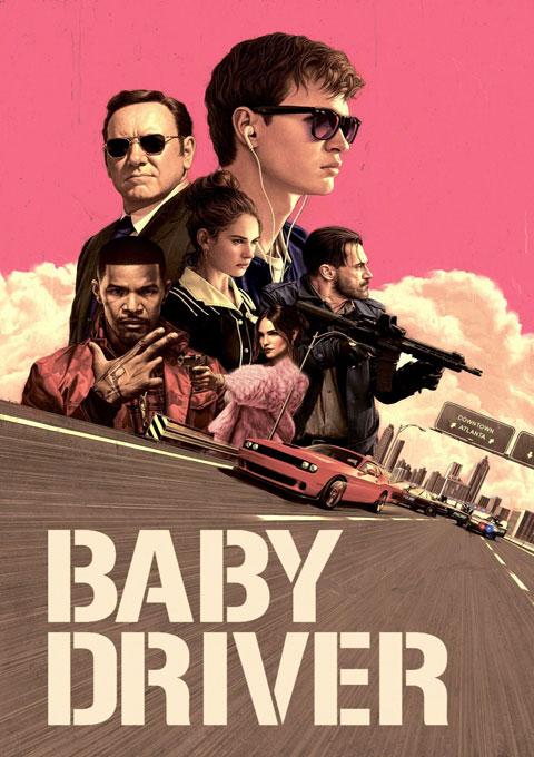 دانلود فیلم بچه راننده  Baby Driver 2017