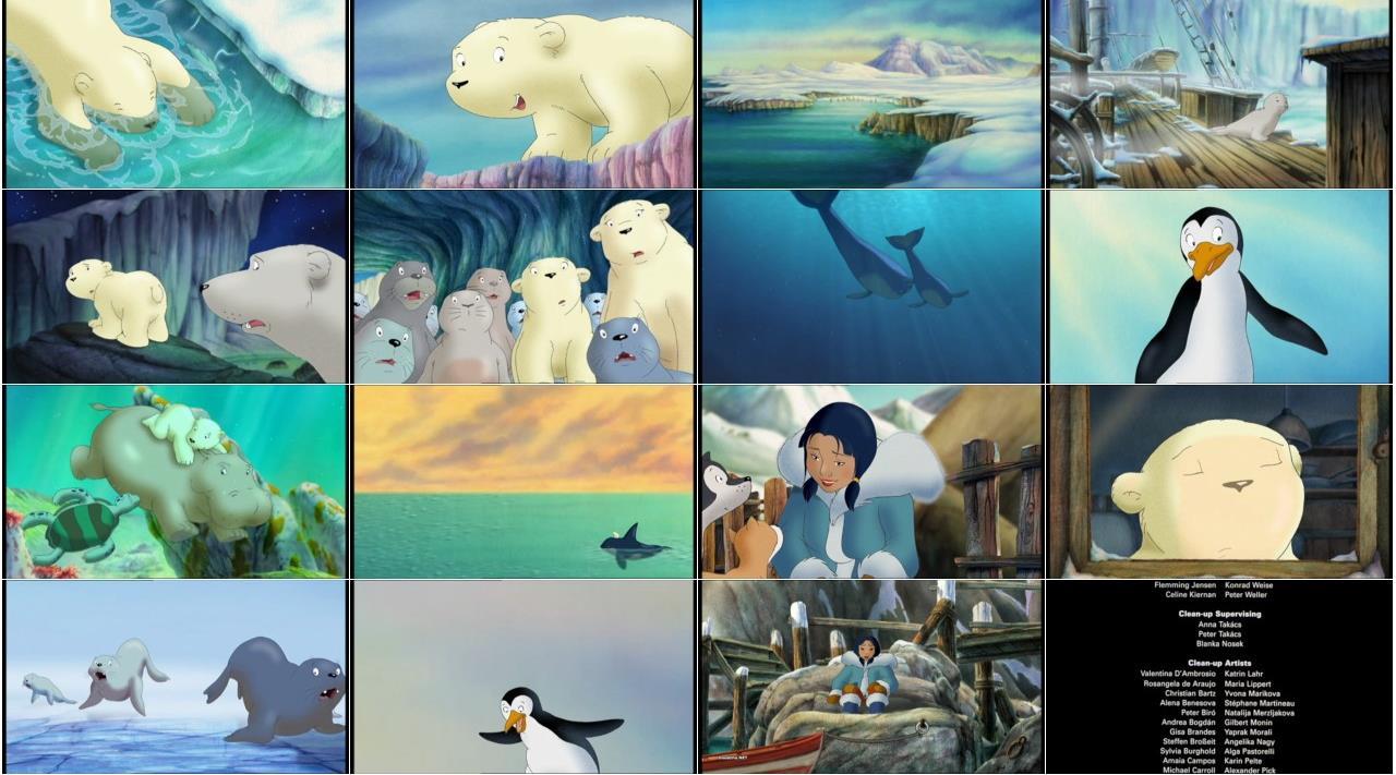 اسکرین شات خرس قطبی کوچولو The Little Polar Bear