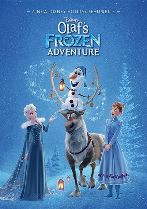 کارتون Olaf's Frozen Adventure 2008