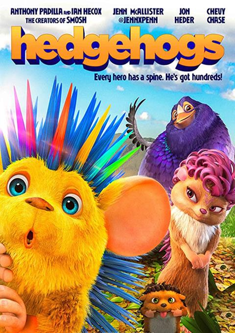 کارتون Hedgehogs 2017