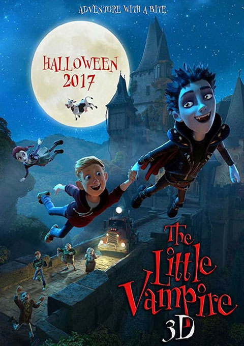 کارتون The Little Vampire 2017