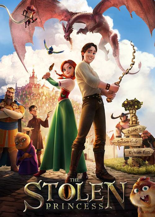 دانلود انیمیشن پرنسس ربوده شده  The Stolen Princess 2017