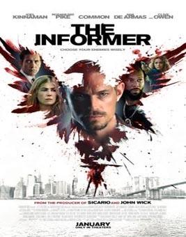 دانلود فیلم خبرچین The Informer 2019 با دوبله فارسی