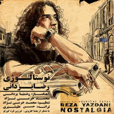 پوستر آلبوم نوستالژی رضا یزدانی