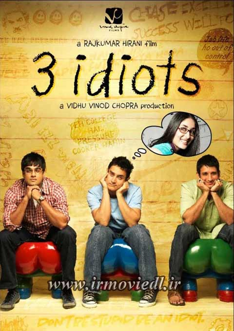 دانلود فیلم هندی 3 احمق با کیفیت عالی