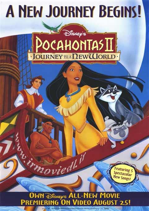کارتون Pocahontas II 1998